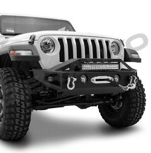 Details About 18 19 Jeep Wrangler Jl Front Bumper 22 Led Light Bar Mount Oe Fog Light Hole