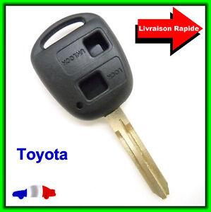 Coque Télécommande Plip Bouton Clé TOYOTA Rav4 Prado Tarago Camry Corolla Celica