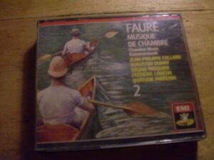 Faure-Musique-de-chambre-Kammermusik-Vol-II-2-CD-Box-EMI-Collard-Dumay