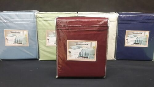 FREE POLE ATTACHMENT Queen Waterbed 4 PC Sheet set Double Brushed Microfiber