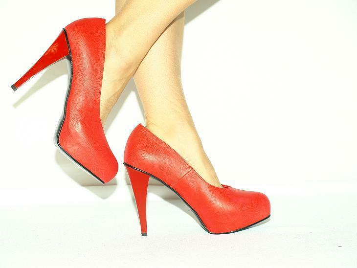 Tacón alto, salón kunstlede producer producer producer Poland-heels 13cm-aproximada 36-47 - fashion style  promociones de descuento