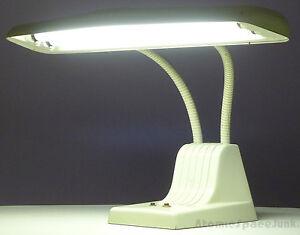 Image Is Loading Dazor Model 1000 Gooseneck Desk Lamp Mid Century