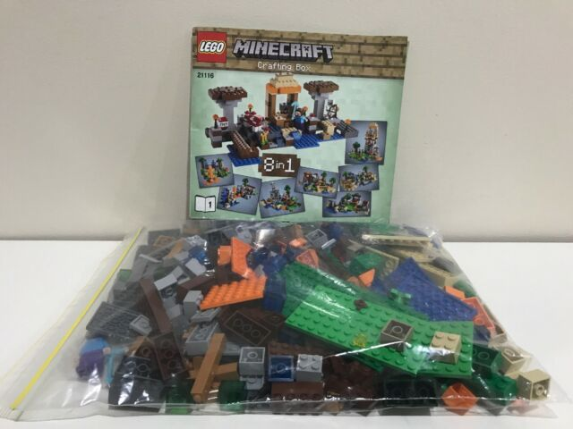 LEGO MINECRAFT | 21116 | 100% COMPLETE | 1 INSTRUCTION MANUAL ONLY