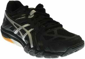 ASICS-GEL-Court-Control-Casual-Volleyball-Shoes-Black-Womens-Size-6-B