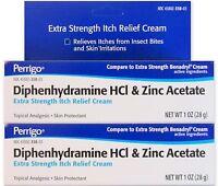 Diphenhydramine 2% & Zinc Anti-itch Cream (comp To Benadryl Cream) 1oz (2 Pack)