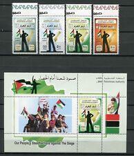 PALÄSTINA PALESTINE GAZA 2010 Belagerung Kinder Flaggen Children Flags ** MNH