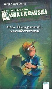 Die-Kaugummiverschwoerung-von-Juergen-Banscherus-Buch-Zustand-gut