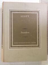 IVANHOE Walter Scott UTET I grandi scrittori stranieri IV 90 1964 romanzo libro