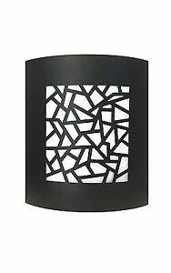 Aluminum Outdoor Exterior Lantern Hanging  Lighting Fixture Black Sconce
