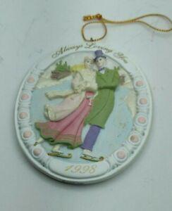 Vintage-Always-Loving-You-AGC-Inc-1998-Hanging-Ornament-Decoration-3-034-long