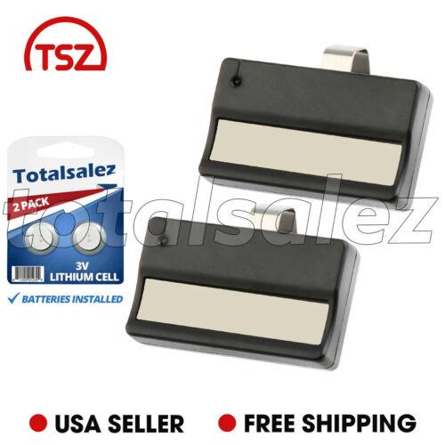 2 Pour LIFTMASTER 61 LM compatible 81 LM code 9 Interrupteur de porte porte de garage voiture à distance