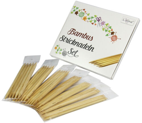 Spar Paquet 7er Set bambou double tricot aiguilles 5.00-10.00 mm aiguilles tricot