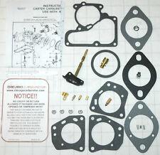"""1970 74 CARB KIT AMC HOLLEY 1 BARREL MODEL 1940 6 CYLINDER 199 232 258/"""" ENGINES"""