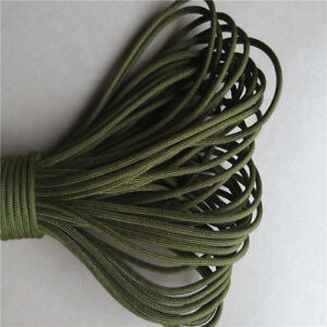 Parachute-Rope-25FT-100FT-Hank-Paracord-String-550-Cord-7-Strand-For-Camping-AM5