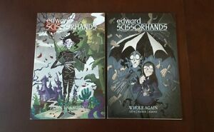 Edward-Scissorhands-Parts-unknown-and-Whole-Again-Graphic-novel-Lot-TPB-NEW
