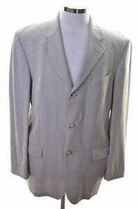 Joop-Mens-Blazer-Jacket-Size-38-Small-Grey-Wool-Viscose
