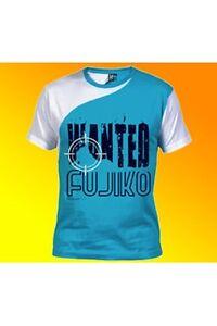 Lupin-T-Shirt-Fujiko-Wanted-B-Gr-L