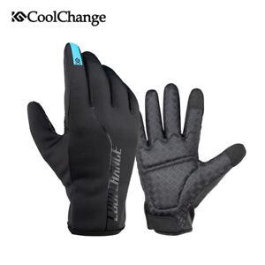 hoch gelobt Kaufen Sie Authentic glatt Details zu Winter Fahrradhandschuhe Mountainbike Motorrad Handschuh  Winddicht Touchscreen