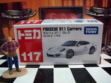 TOMICA #117 PORSCHE 911 CARRERA 1/64 SCALE NEW IN BOX
