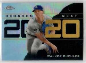 2020 Topps Chrome Update Decade's Next Refractor #DNC-14 Walker Buehler Dodgers