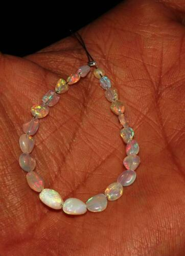 Details about  /AAA 100/% Natural Ethiopian Welo Fire Opal Tumble 3x3 to 5x7 mm Demi strand