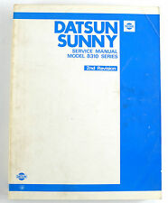 datsun sunny b310 series sept 1978 factory workshop manual ebay rh ebay com au Datsun 310 Datsun 310 GX Hatchback