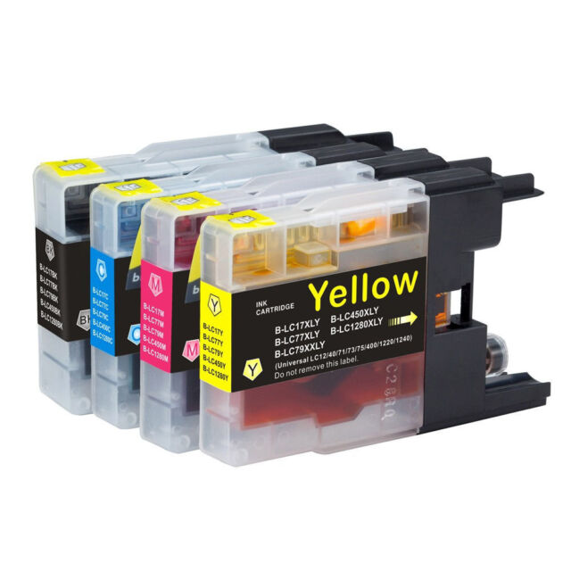 8x Ink Cartridge LC73 LC77 LC40 for Brother DCP J525W J725DW J925DW J6710DW
