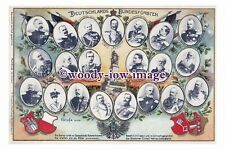 rp10973 - German Kaiser Wilhelm II with many others - photograph