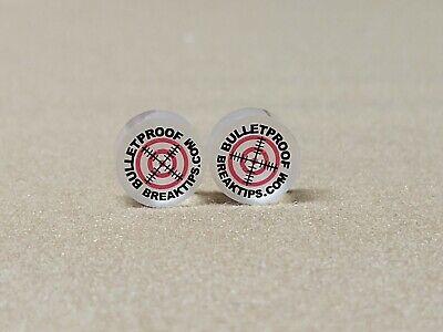 Bulletproof Break Tip Qty 1 Break//Jump B//J Pool Cue Tips 15mm with Free Shipping