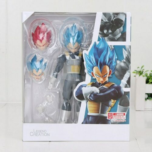 Figuarts Dragon Ball Z Super Saiyan Blue Hair Vegeta PVC Action Figure New S.H