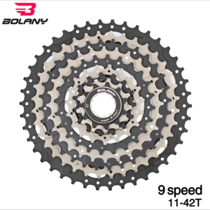 NEW-BOLANY-MTB-9-Speed-Cassette-11-42T-Mountain-Bike-Flywheel-Cogs-Cycling-Parts