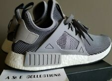 21eb06179dd30 Adidas NMD XR1 Primeknit PK Nomad Boost Light Grey Vintage White SZ 11.5  ultra