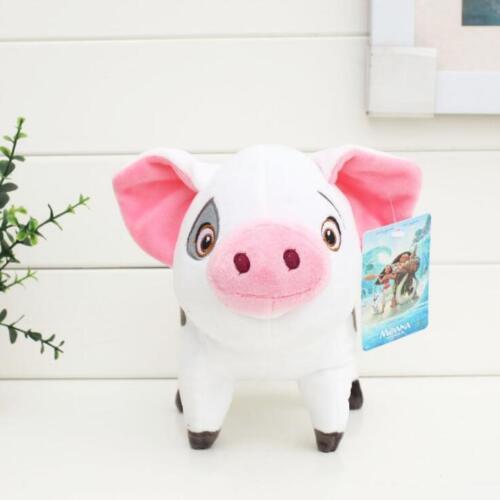 Disney Movie Moana Pet Pig Pua Stuffed Animals Cute Cartoon