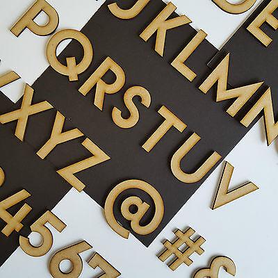 In legno Aragosta Lettere,Alfabeto /& Numeri Tra Dimensioni 2-10cm Artigianato