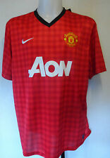 Manchester United 2012/13 Boys Home Shirt by Nike Taglia Media Ragazzi Bnwt
