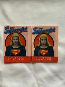 Supergirl Topps Cards 1984 Sealed