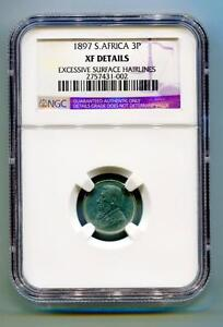 South-Africa-Zar-Ngc-Certified-1897-Kruger-3-Pence-Coin-XF