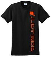 Youth Motocross T Shirt Just Ride Moto Mx Dirt Bike Supercross Child Ys Ym Yl