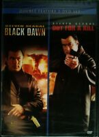 2 Steven Seagal Movies Black Dawn (2005) Out For A Kill (2003) 2-disc Set Sealed