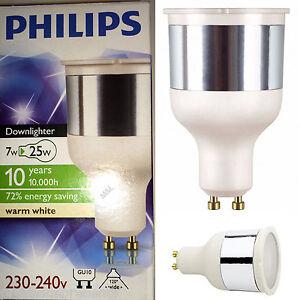 Image is loading 6-x-7w-GU10-LOW-ENERGY-SAVER-SPOT-  sc 1 st  eBay & 6 x 7w GU10 LOW ENERGY SAVER SPOT LIGHT BULBS WARM 2700K WHITE ...