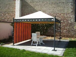 ersatzdach f r pavillon korfu 3 5x3 5m aus lkw plane. Black Bedroom Furniture Sets. Home Design Ideas