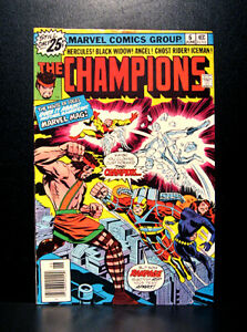 COMICS-Marvel-The-Champions-6-1976-RARE