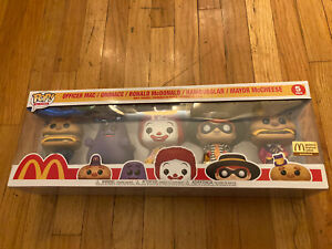 Funko Pop McDonalds Limited Edition Exclusive 5 Pack - In Hand - Mint Collector