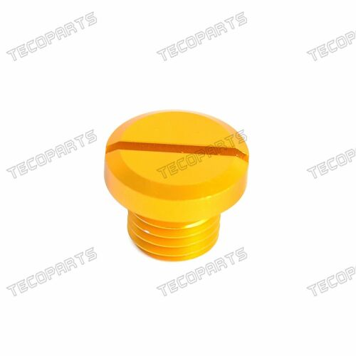2 Pack M10X1.25 CNC Mirror Hole Plug Anodized Aluminum for Motorcycles Universal
