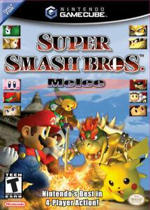 Super Smash Bros Melee (Nintendo GameCube, 2001) Best Seller Edition CIB Manual