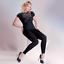 Gabriella Plus Size 100 Denier Footless Opaque Tights XL//XXL