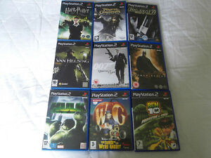 PS2-Nine-Game-Bundle-Playstation-2-Joblot