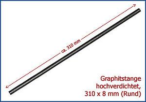 TOP-Angebot-Graphitstange-zum-Perlenmachen-308-x-8mm-Rund