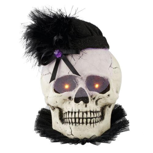 Dept 56 Halloween 2016 Day Of The Dead Lit Skull #4052641 NIB FREE SHIP 48 STATE