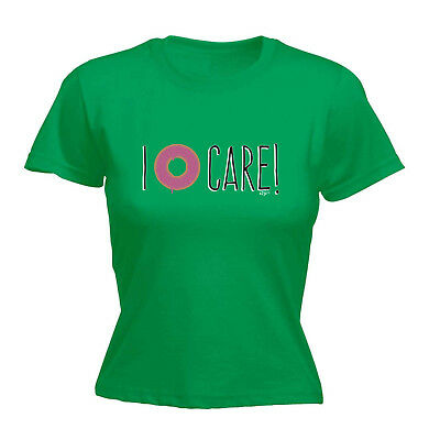 Funny Novelty Tops T-shirt Womens Tee Tshirt - I Donut Care